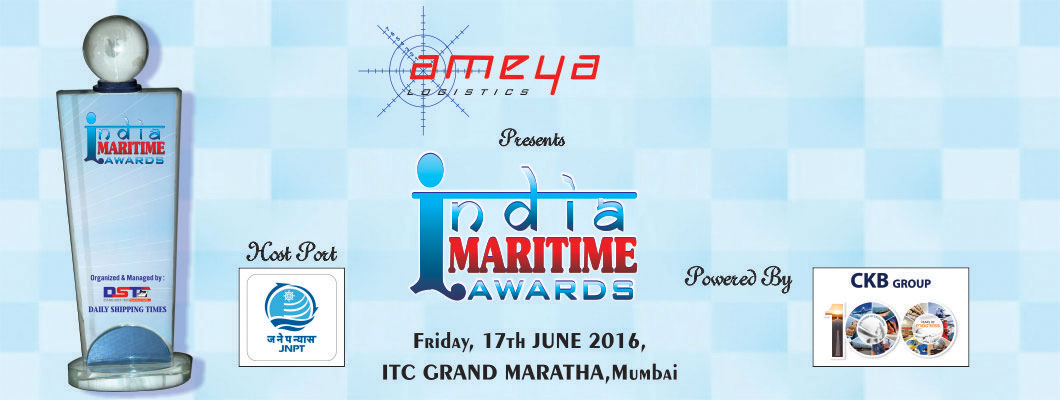 India Maritime Awards - 1st Edition Winners