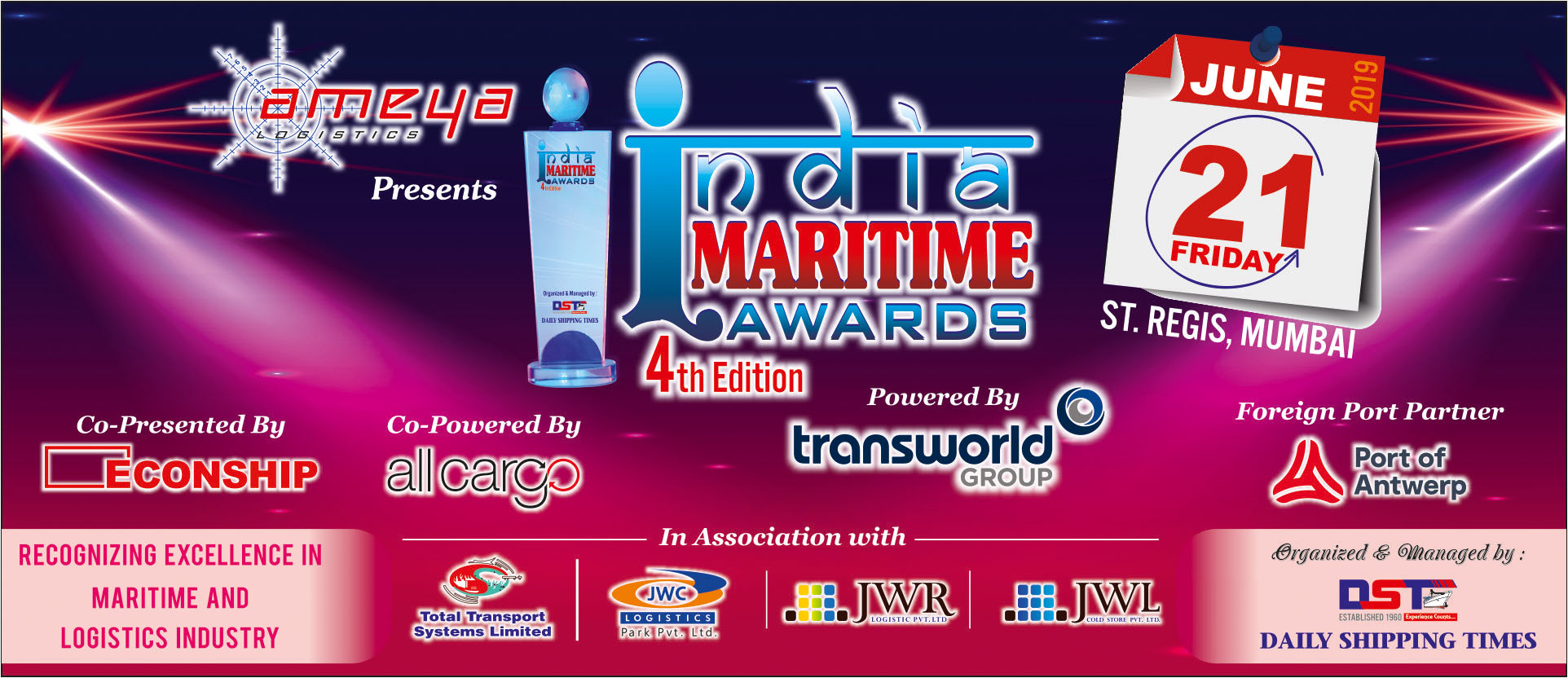 India Maritime Awards - 4th Edition